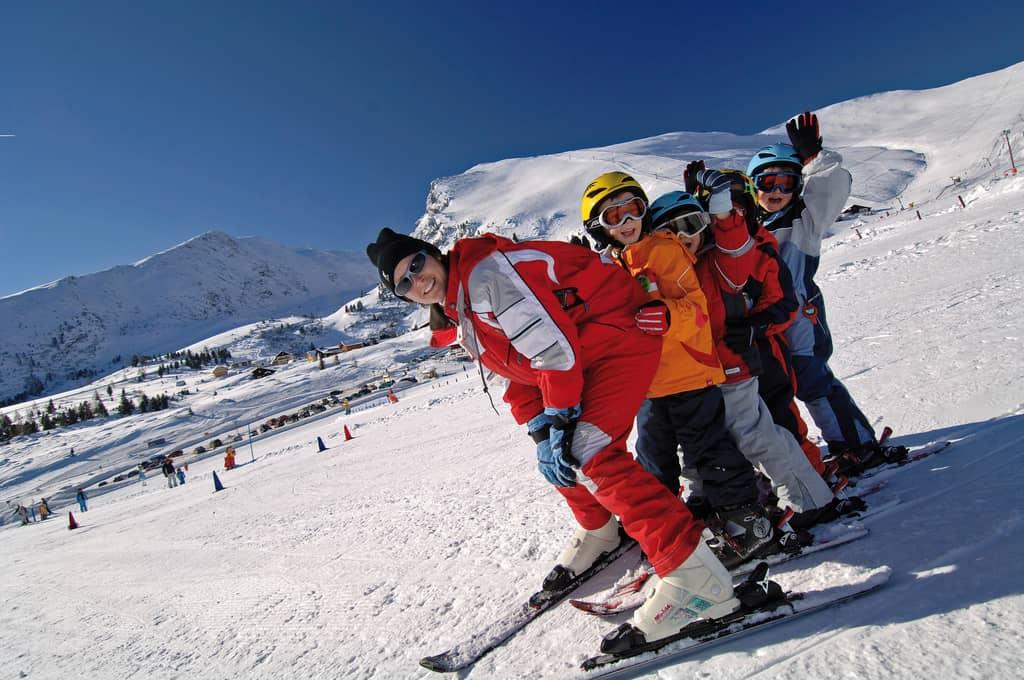 Skikurs in Kärnten © Kärnten Werbung - Franz Gerdl