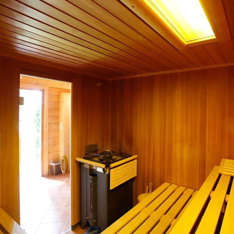 Sauna und Wellness im Liesertal