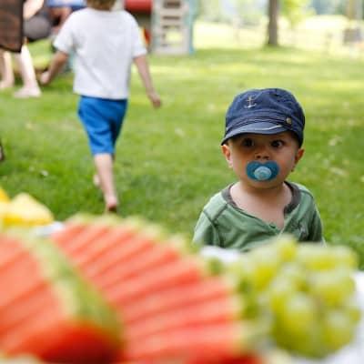 Windelflitzer fühlen sich wohl am Baby- und Familienbauernhof Glawischnig-Hofer
