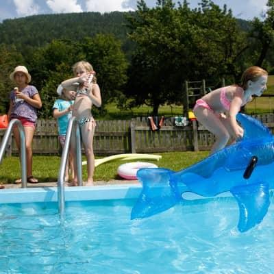 Familienurlaub mit Badespaß in Kärnten