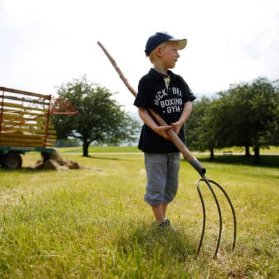 Bauernhof-Ferien für Kinder erleben